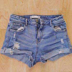 Zara | Trafaluc Vintage Denim Shorts